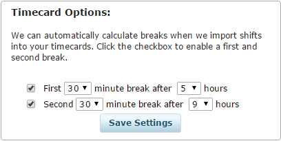 how to calculate time cards